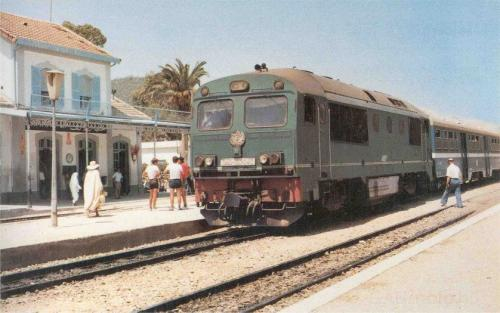 Ganz mozdony DHM-11 Csörgő (tunéziai export)